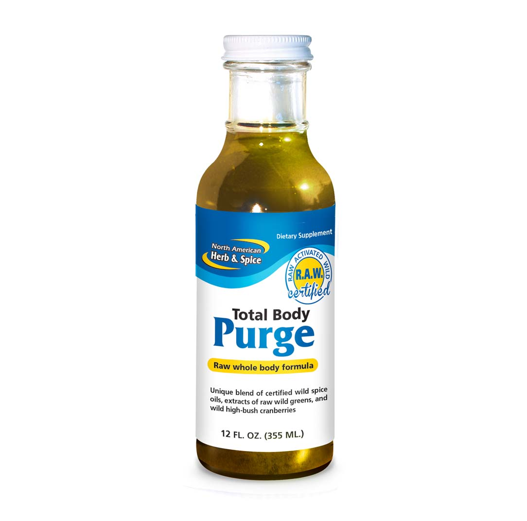 Front of Total Body Purge 12 oz. bottle